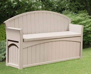 4'5 x 1'9 Suncast Resin Patio Storage Bench