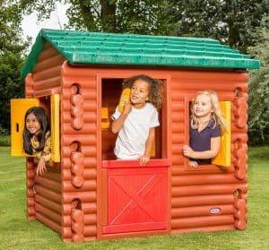4'9 x 4' Little Tikes Log Cabin Playhouse