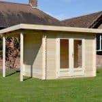 4x2.5 Waltons Zen 1 Log Cabin Feature
