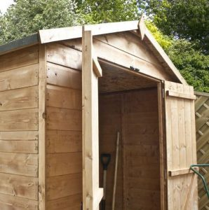 4x6 Waltons Mini Tongue and Groove Apex Wooden Shed Wall and Roofing