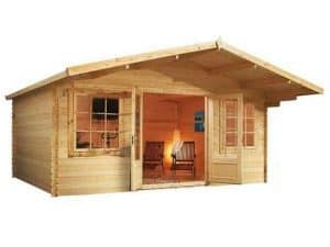 5 X 5 Waltons Haven Log Cabin