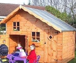 5' x 10' Traditional Play Station Playhouse