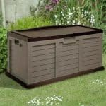 5' x 2' Sit On Plastic Storage Box with Lid by Store-Plus