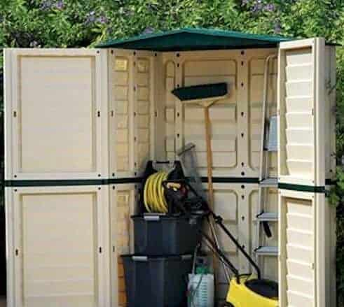 5' x 2'8 Store-Plus Plastic Tall Garden Shed