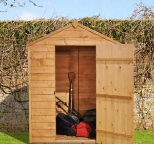 5' x 3' Shed-Plus Starter Shed Front View