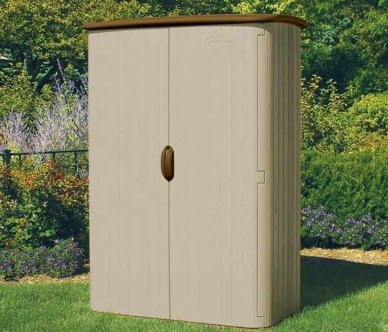 5' x 3' Suncast Resin Conniston Four Vertical Shed