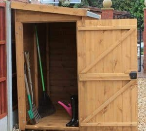 5' x 3' Traditional Pent Tool Store Shed