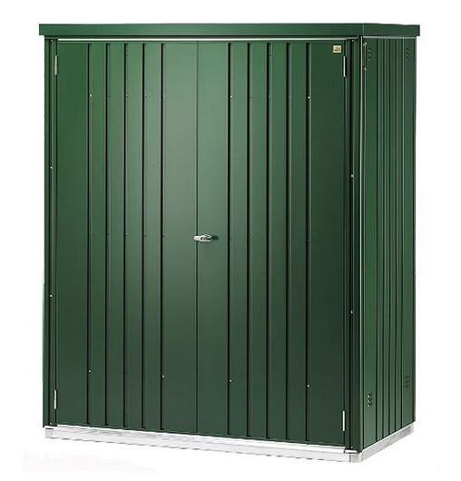 5 x 3 Waltons Green Metal Storage Unit