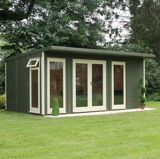 terrific insulated garden room | 5 x 3 Waltons Insulated Garden Room - What Shed