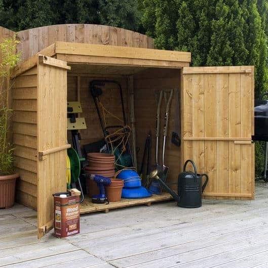 5 x 3 Waltons Overlap Wooden Garden Mower Store