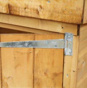5 x 3 Waltons Shiplap Mower Store Hinge and Door
