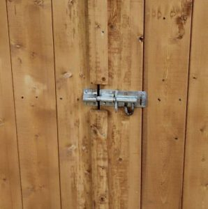 5 x 3 Waltons Shiplap Mower Store Security Lock