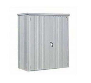 5 x 3 Waltons Silver Metal Storage Unit