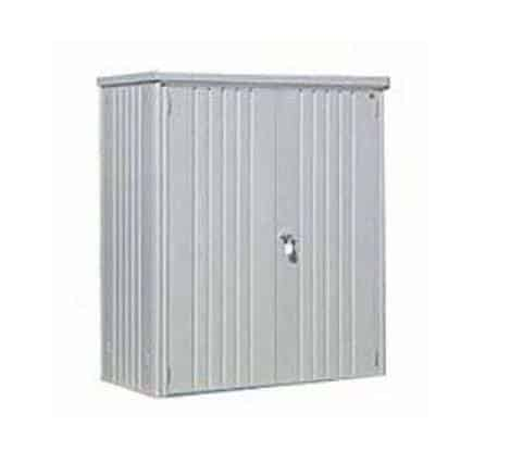 5 x 3 Waltons Silver Metal Storage Unit