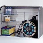 5 x 3 Waltons Storemax Medium Roller Door Metal Storage Shed