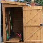 5' x 4' Traditional Pent Tool Store Shed