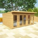 5 x 4 Waltons Insulated Garden Room