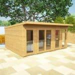 5 x 4 Waltons Insulated Garden Room