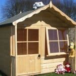 5' x 5' Shire Kitty Playhouse