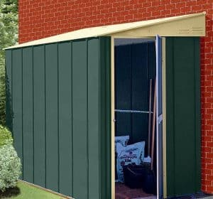 5' x 6' Shed Baron Grandale Lean To Metal Shed 2