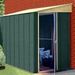 5 x 6 Store More Canberra Six Pent Lean-To Metal Shed