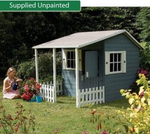 5' x 6'9 Play-Plus Parsley Cottage Playhouse Supplied Unpainted