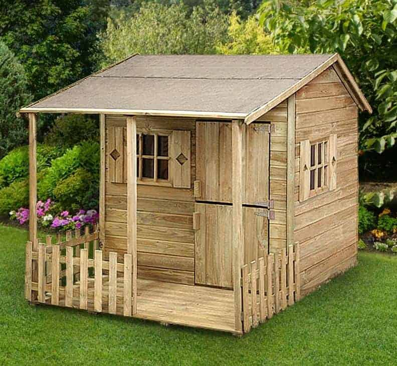 5' x 6'9 Play-Plus Parsley Cottage Playhouse