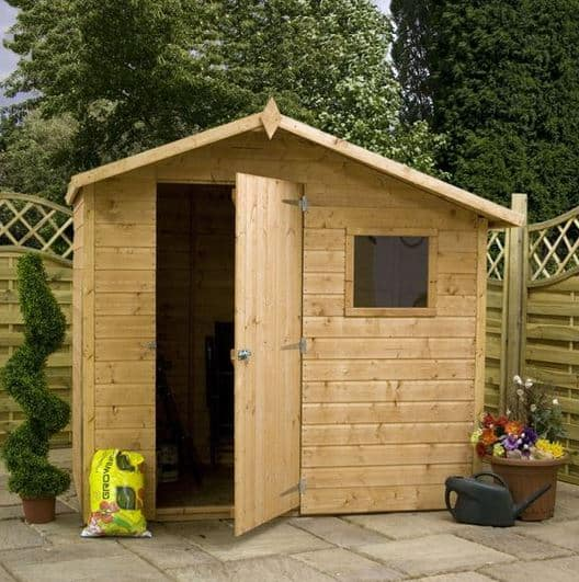 5 x 7 Waltons Apex Tongue & Groove Shed