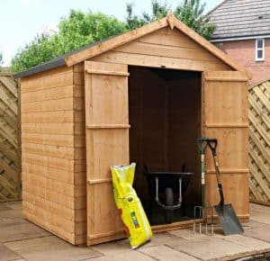 5 x 7 Walton's Select Tongue and Groove Apex Double Door Garden Shed