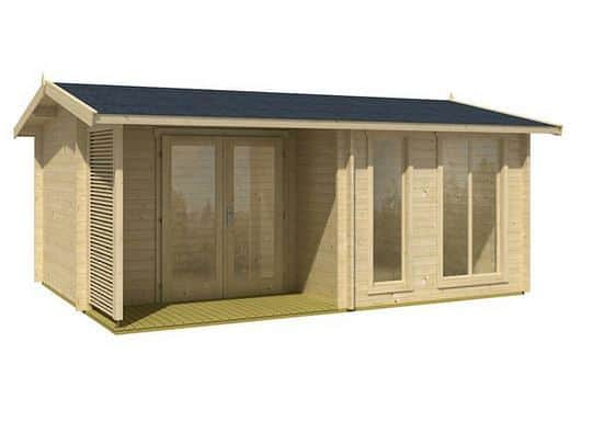 5.2 x 3.7 Brighton Log Cabin