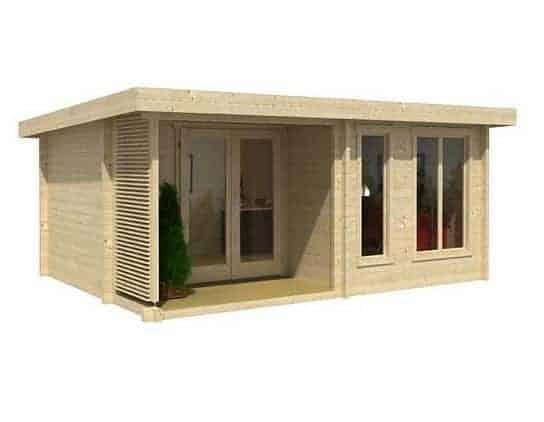 5.2 x 3.9 Orkney 1 Log Cabin