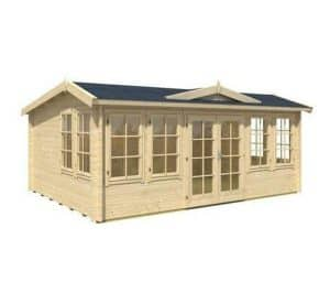 5.3 x 3.8 Balmoral Log Cabin