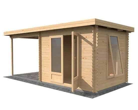 5.5 x 2.5 Waltons Zen 3 Log Cabin