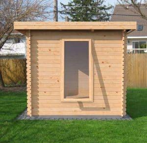5.5x2.5 Waltons Zen 3 Log Cabin Dimensions Back
