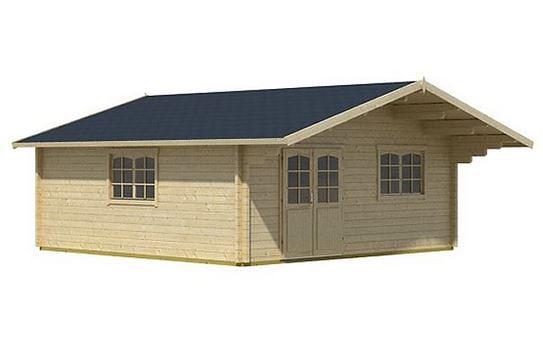 5.75 x 5.75 Zansibar Log Cabin