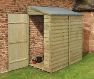 5'11 X 3'5 Shed-Plus Pent Tool Store Shed