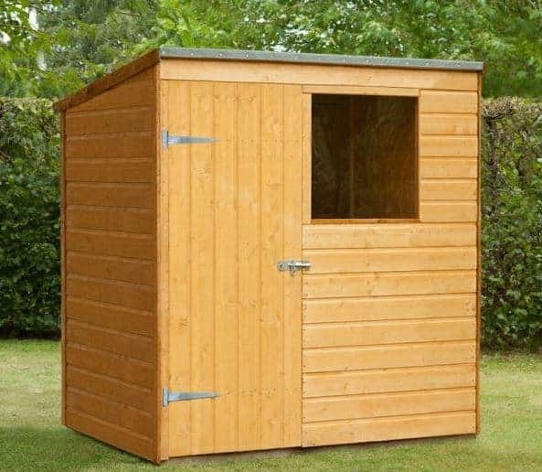 5'11 x 3'10 Shed-Plus Shiplap Pent Shed