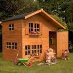 5'11 x 8' Windsor Bramble Cottage Playhouse Unpainted