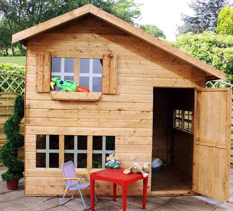5'11 x 8' Windsor Bramble Cottage Playhouse
