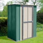 5'3 x 3' Store More Canberra Utility Metal Shed
