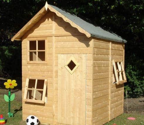 5'3 x 5'6 Shire Croft Playhouse