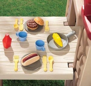 5'6 x 3'1 Little Tikes Picnic on the Patio Top View