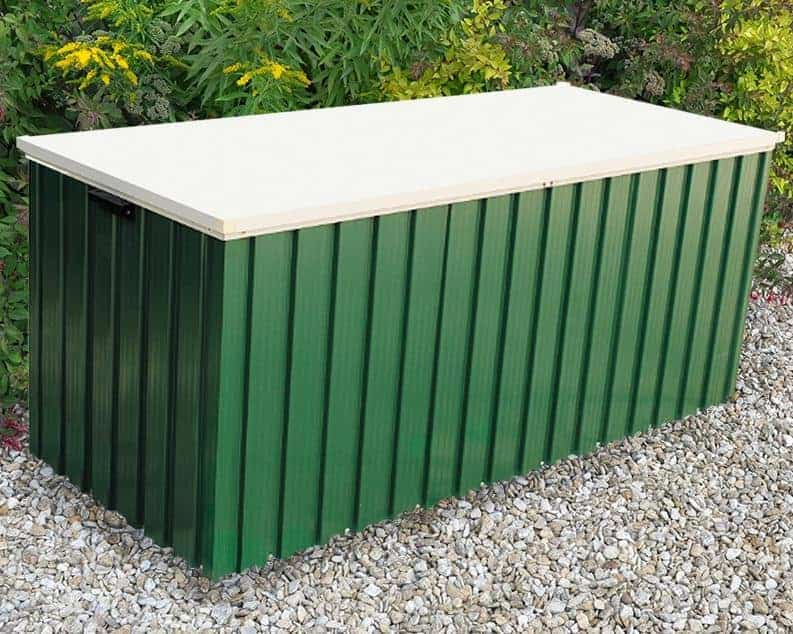 5u00277 x 2u00274 Store More Emerald 1.7 Green Metal Storage Box & 5u00277 x 2u00274 Store More Emerald 1.7 Green Metal Storage Box - What Shed