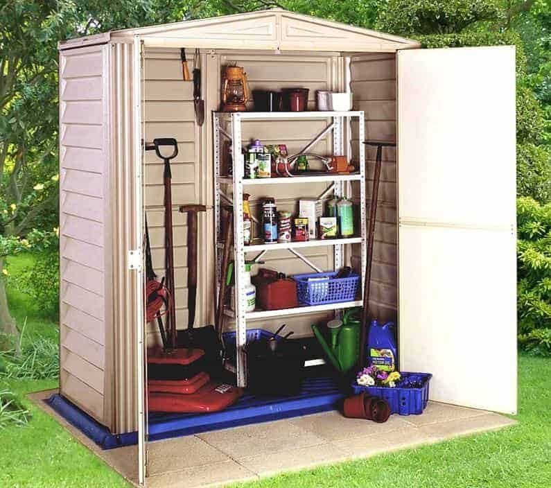 5'8 x 3'2 Duramax Little Hut Plastic Shed
