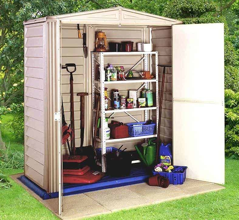 5'8 x 5'10 Duramax Large Hut Plastic Shed