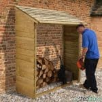5'9 x 2' Store-Plus Large Wall Log Store
