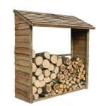 5'9 x 2' Store-Plus Large Wall Log Store Unpainted