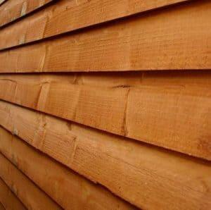 5x3 Waltons Overlap Wooden Garden Mower Store Cladding