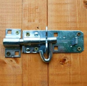 5x3 Waltons Overlap Wooden Garden Mower Store Padlockable Door