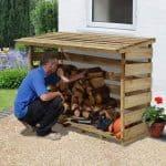 6' x 2' Store-Plus Large Log Store 2